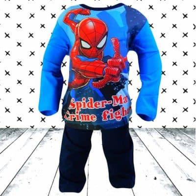 Pijamale baieti bumbac. Pijamale Spiderman