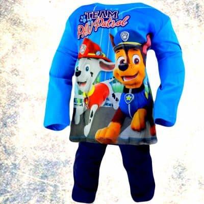 Pijamale copii bumbac Patrula Catelusilor