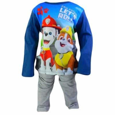 Pijamale baieti. Haine copii Patrula Catelusilor