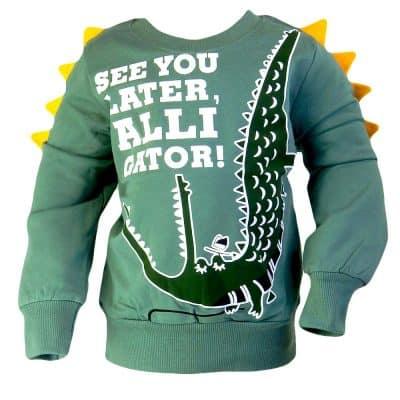 Bluza baieti cu Aligator. Alege haine copii