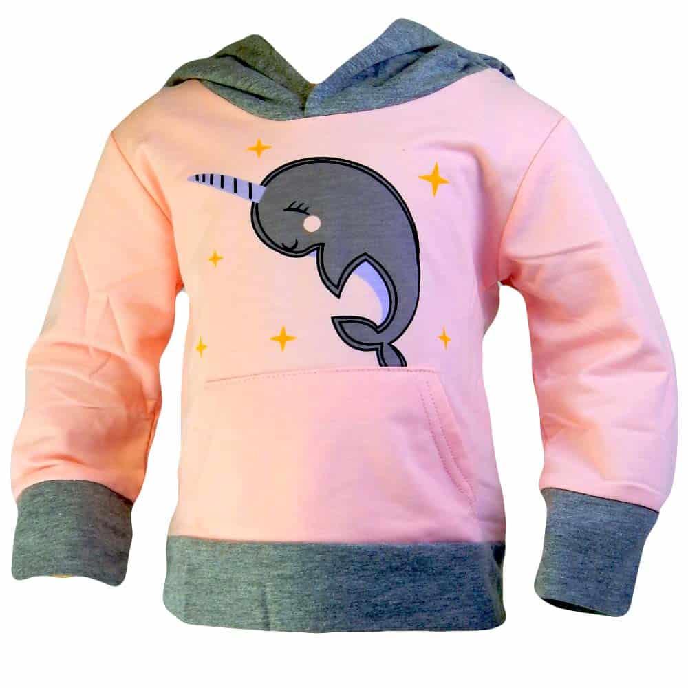 Alege bluza fetite cu Delfin Unicorn. Haine fete