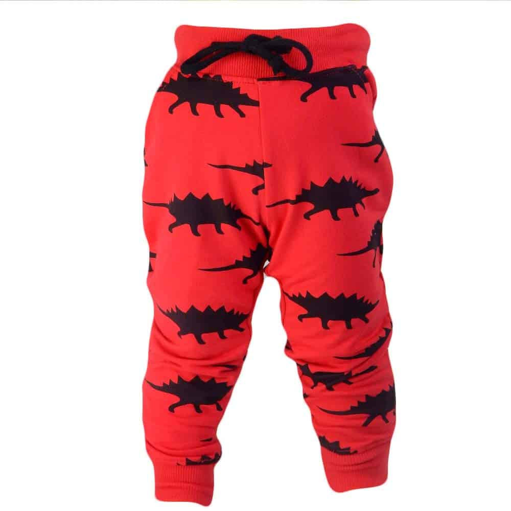 Pantaloni baieti cu dinozauri. Alege haine copii