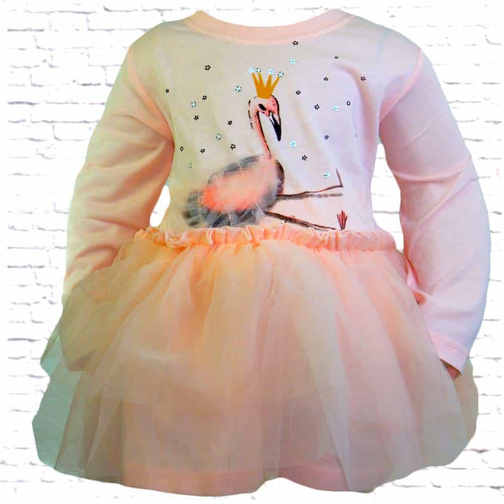 Rochie copii fete. Rochita Flamingo