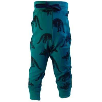 Pantaloni de trening pentru baieti cu dinozauri