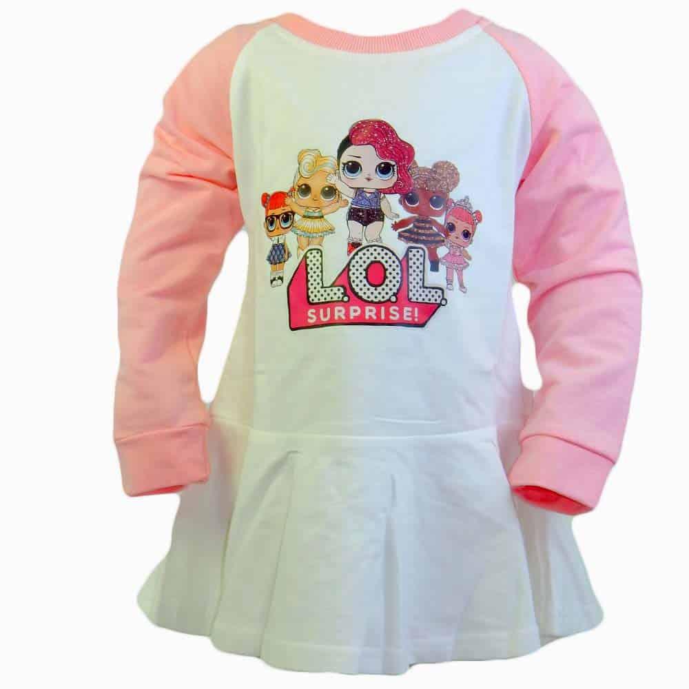 Rochie pentru fete cu papusile LOL