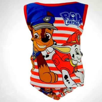 Set maieu si chiloti copii Paw Patrol