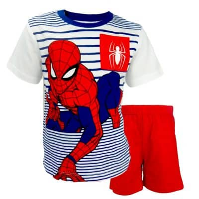 Alege set de vara baieti cu Spider Man. Haine copii
