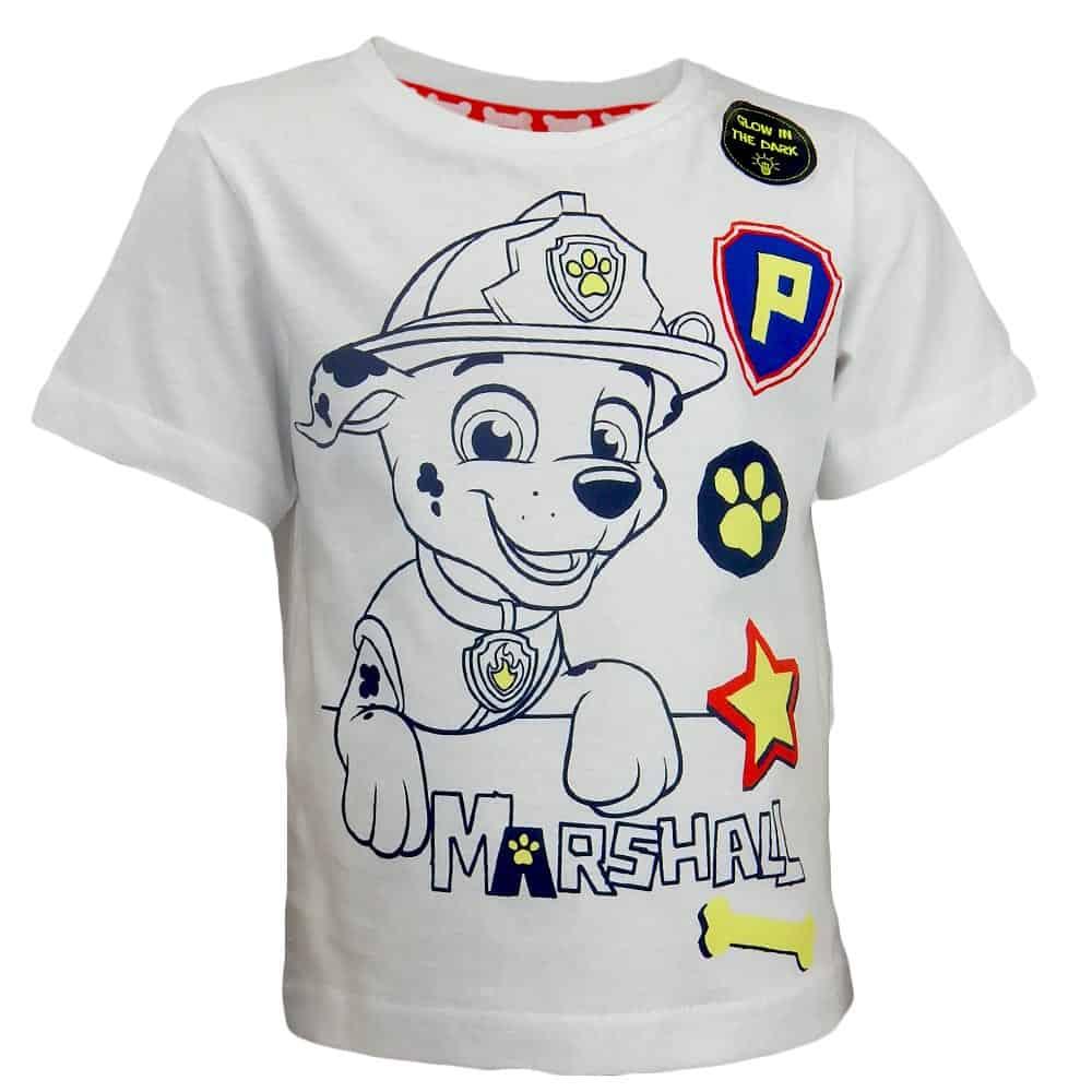 Alege tricou pentru baieti cu Marshall. Haine copii