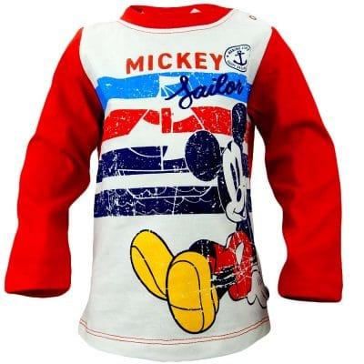 Bluza pentru bebelusi baieti cu Mickey Mouse