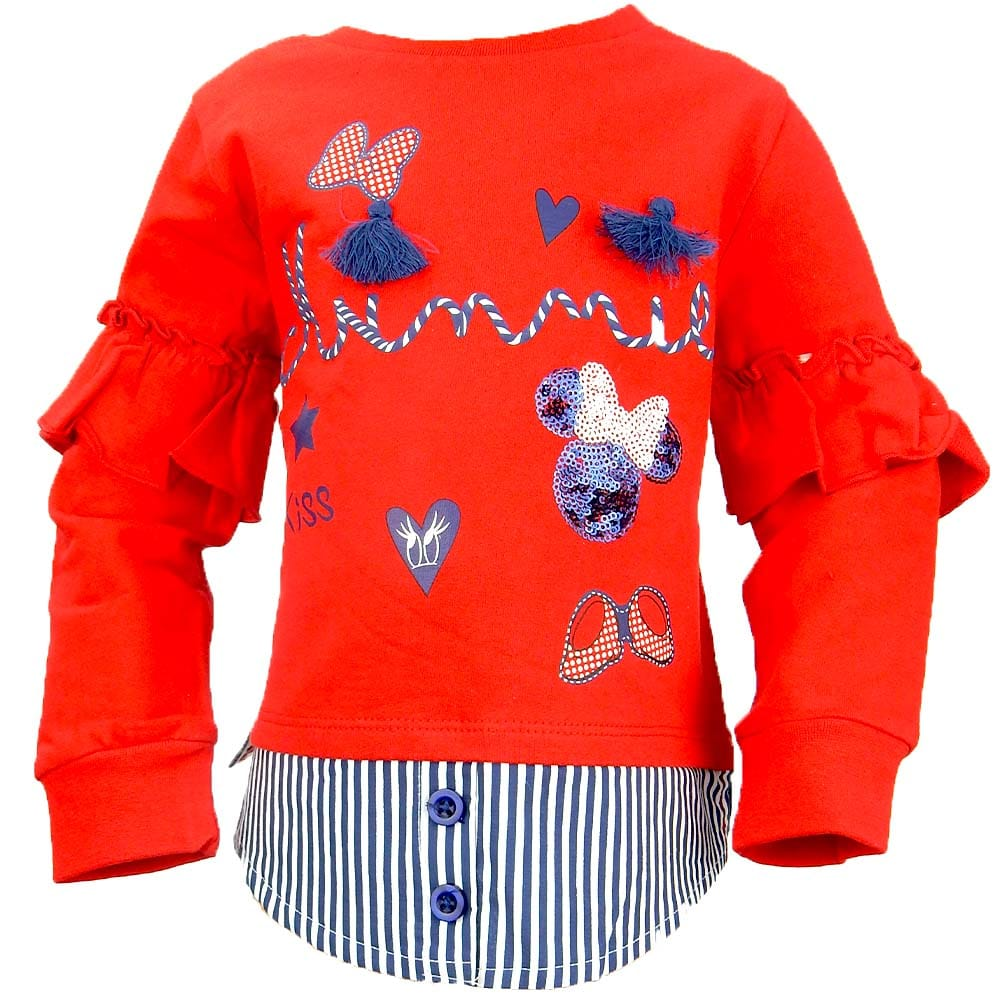 Alege bluza pentru fete cu Minnie Mouse
