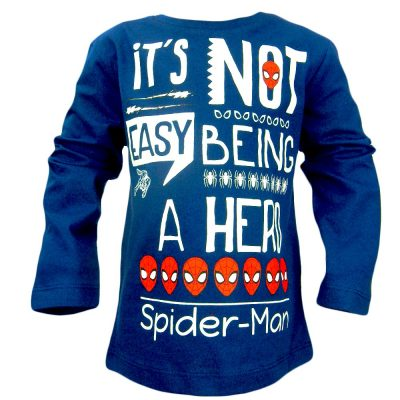 Alege bluza pentru baieti cu Spiderman