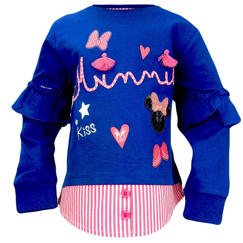 Bluza pentru fete cu Minnie Mouse
