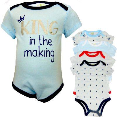 Body bebe baieti. Set body-uri – 5 bucati
