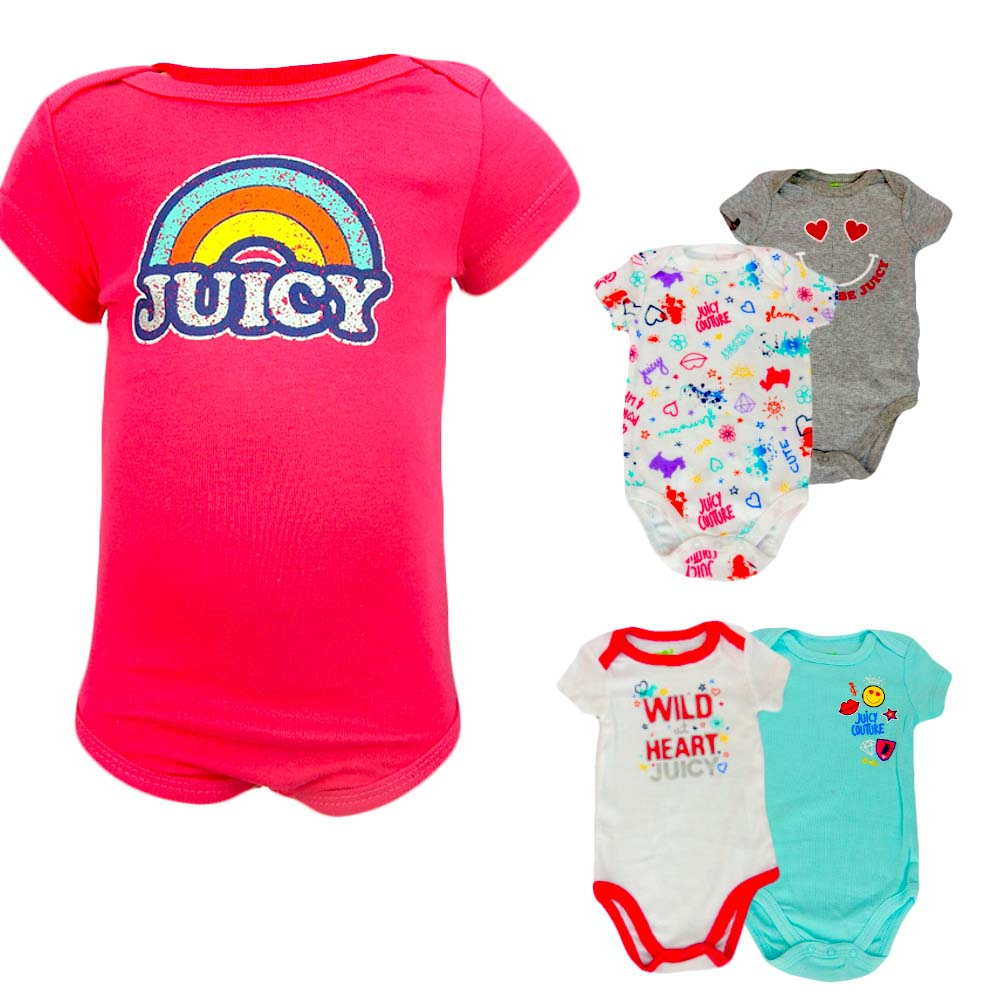 Body bebelusi fetite – Set 5 bucati