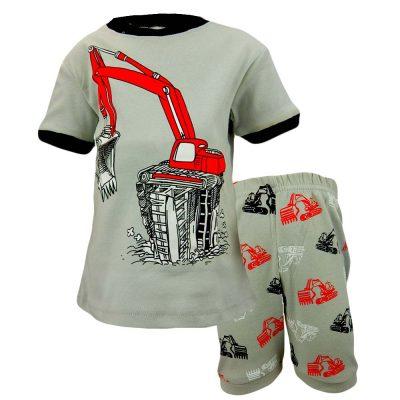 Set pentru copii de vara cu excavator