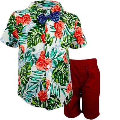 Alege set casual pentru baieti de vara