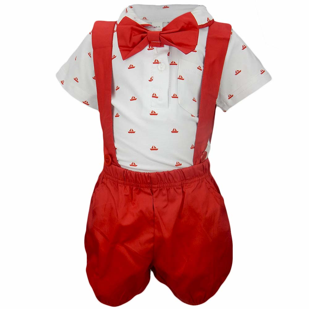 Costum pentru bebelusi de vara
