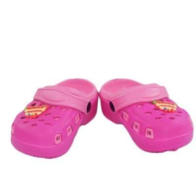 Crocsi pentru fete roz. Incaltaminte de vara