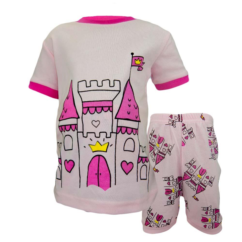 Pijamale pentru fete vara