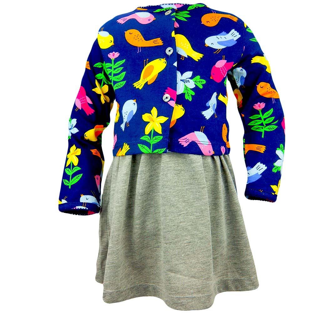 Alege set fetite cu rochie si pulover