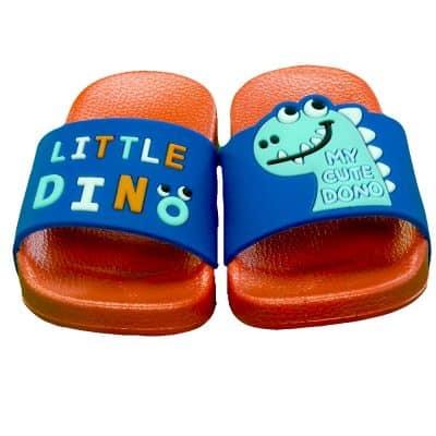 Slapi pentru baieti cu Dino. Incaltaminte copii