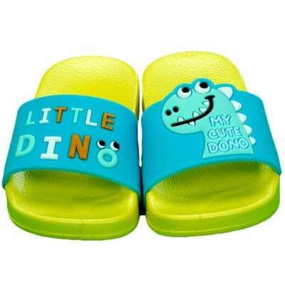 Alege slapi baieti cu Dino. Papuci copii