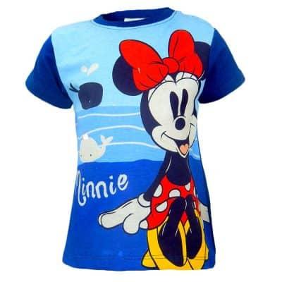 Tricou fetite cu Minnie Mouse. Haine fete