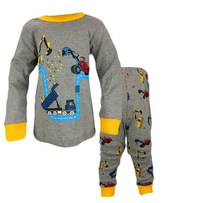 Pijamale baieti cu utilaje