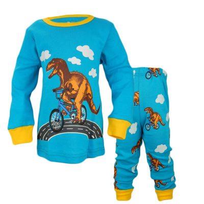 Pijamale pentru baieti cu dinozaur