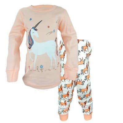 Alege pijamale fete Unicorn. Haine fetite