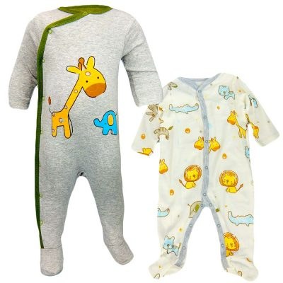 Salopeta bebe – Set 2 bucati