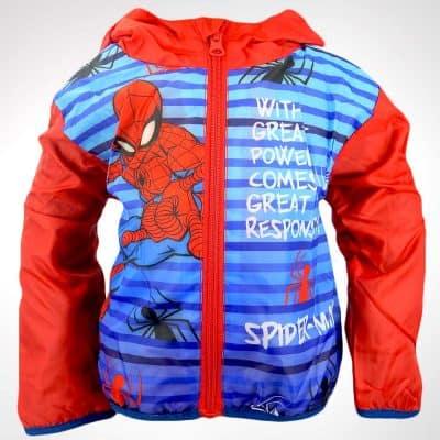 Geaca baieti impermeabila Spider-Man