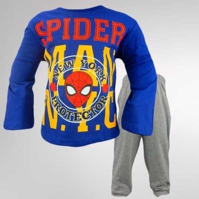 Pijamale pentru copii cu Spiderman