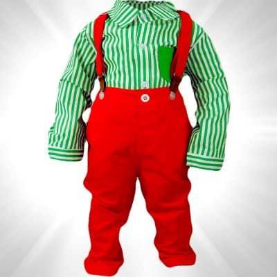 Costum pentru bebelusi colorat